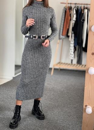 Теплое платье hennes 38-40
