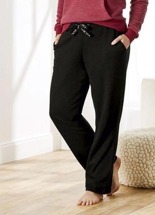 Женские теплые хлопковые штаны с начесом esmara евро 48-50