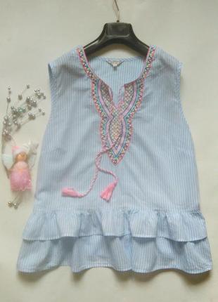 Хлопковая блуза 20