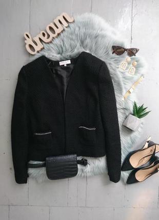 Актуальный буклированный пиджак жакет блейзер №7max