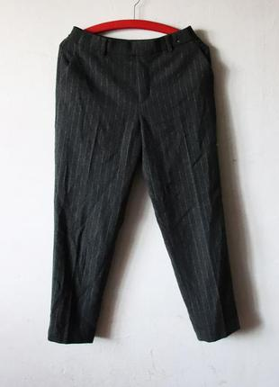 Очень теплые брюки uniqlo на резинке шерсть в составе
