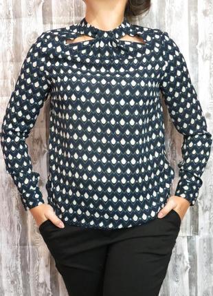 Супер  блуза с длинным рукавом doroti perkins 48 размер