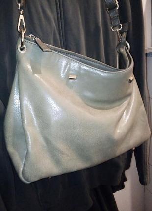 Фирменная сумка из экокожи