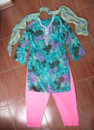 Восточная принцесса восточное платье туника 42-46