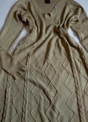 Платье миди  54 56 размер офисное бюстье осеннее нарядное с рукавом теплое