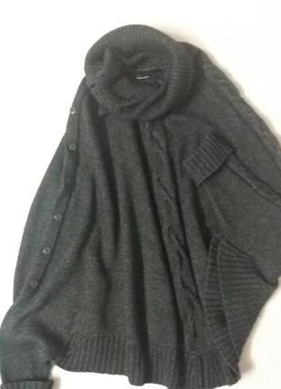 Трикотажный кардиган свитер кофта