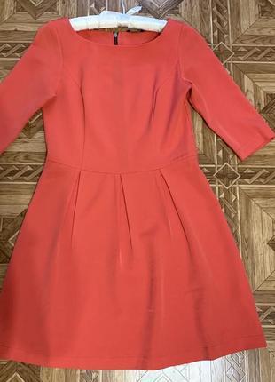 Платье, коралловое платье, платье house, платье baby doll