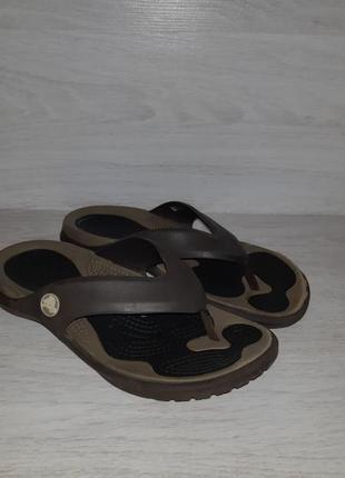 Вьетнамки кроксы, crocs оригинал 37 -38 размер