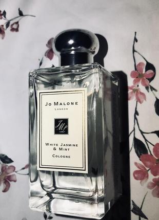 Одеколон (парфюмированная вода) унисекс jo malone white jasmine mint