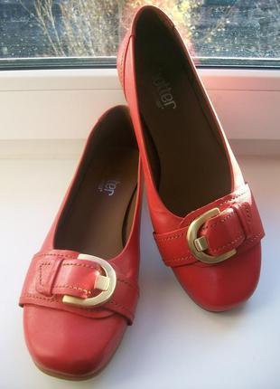 Туфли женские натуральная кожа hotter р.36.5