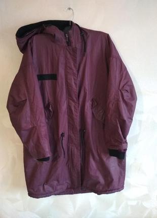 Классная практичная куртка, пальто, парка monki