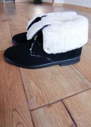 Теплые зимние ботинки на меху inblu