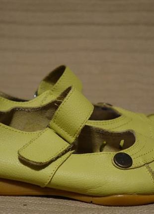 Мягчайшие кожаные мокасины салатового цвета heavenly feet англия 38 р.