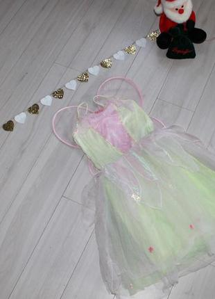 Платье феи на 5-6 лет
