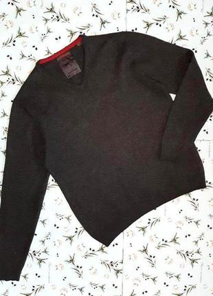 Фирменный теплый серый свитер из 100% шерсти esprit, размер 44 - 46