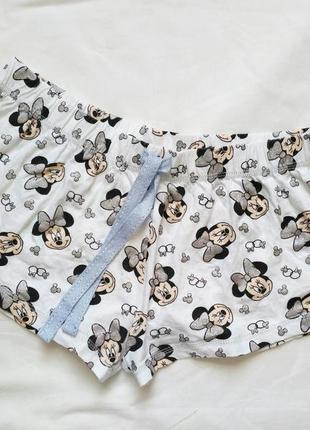 Пижамные шорты для сна 100% коттон