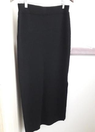 Трикотажная юбка макси из шерсти мериноса spengler.
