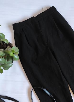 Узкие брюки zara с высокой посадкой