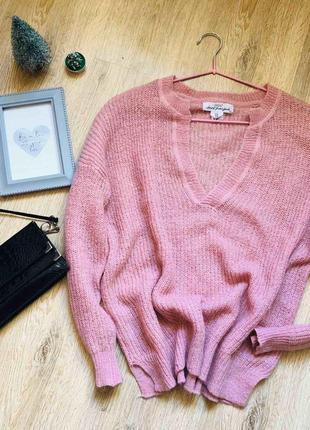 Трендовый объемный свитер h&m,качество супер