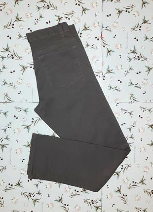 Шикарные новые фирменные темно-серые узкие плотные джинсы denim co, размер 42 - 44