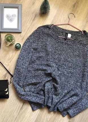 💎стильный объемный свитер h&m