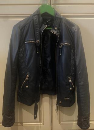 Кожаная курточка twin set