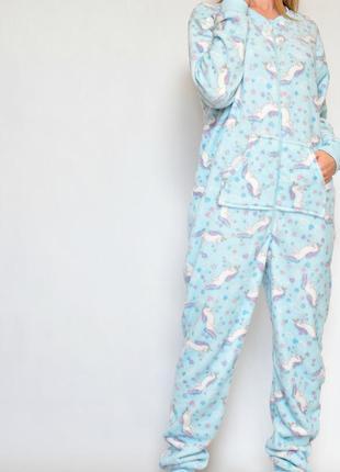 Кигуруми пижама единорог плюш