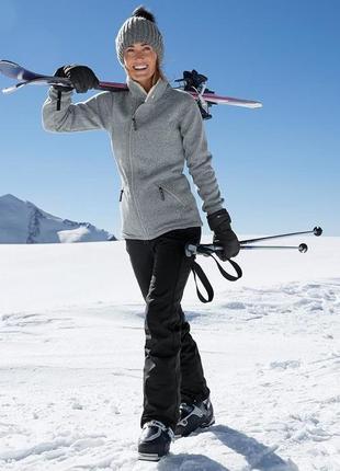 Лыжные штаны softshell с пропиткой ecorepel тсм tchibo германия 40,42,44 евро наш46, 48,50