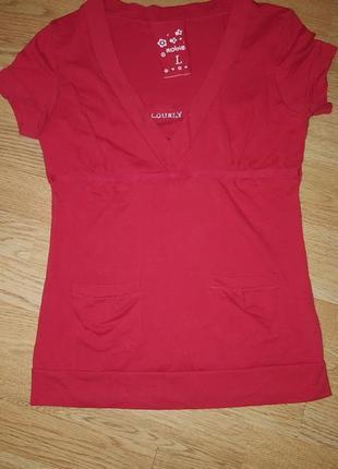 Футболка/червона футболка