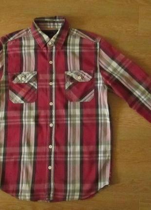 Фирменная рубашка zara man