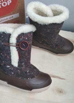 Теплющие зимние валенки сапожки для девочек от тм. алиса лайн