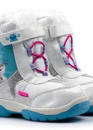 Зимние ботиночки серии frozen