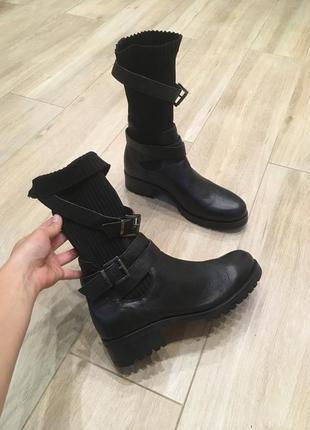 Ботинки з натуральної шкіри від unisa!!!