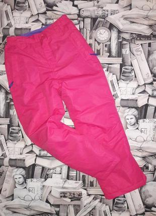 Полукомбинезон. тёплые зимние штаны