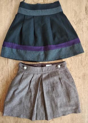 Юбка юбочка тепла зимняя осенняя на подкладе
