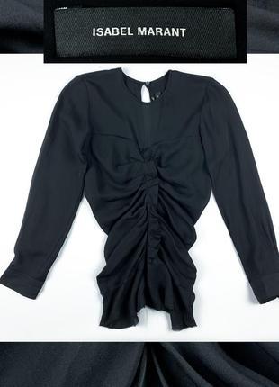 Isabel marant шёлк блузка