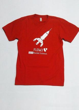 Бесшовная мягкая футболка american apparel, s,унисекс