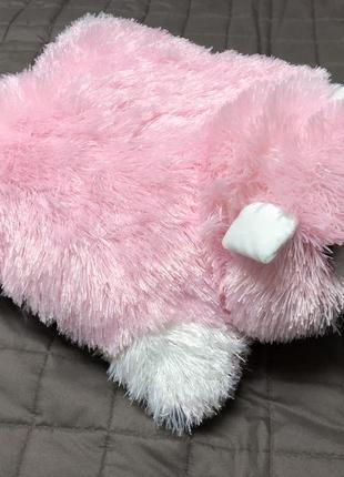 Подушка розовая кот обмен обмін