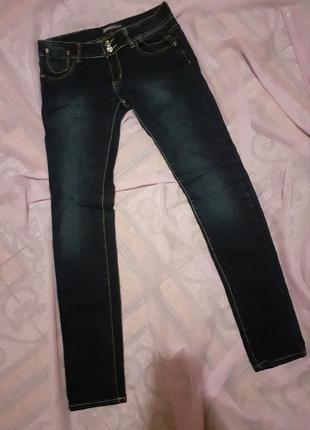 Джинсы скинни зауженные jinex jeans 40/м