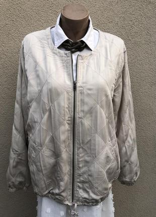 Легкая куртка,ветровка стёганная,жакет,пиджак,большой размер,