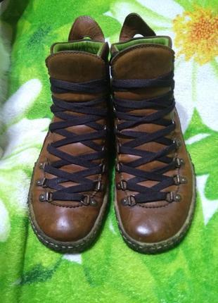 Кожаные ботинки, сапоги, полусапожки snipe