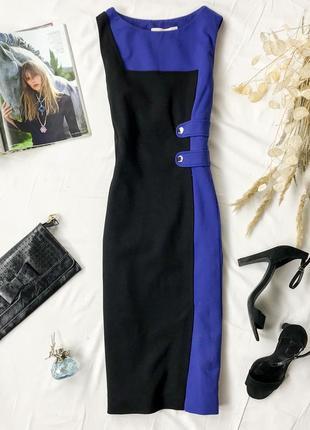 Строгое брендовое платье длиной ниже колена dr 1946084  karen millen