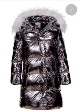 Куртка  / пуховик зимняя очень теплая