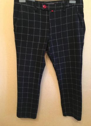 Шерстяные брюки чинос baronio