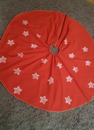 Новогодняя юбка под ёлку