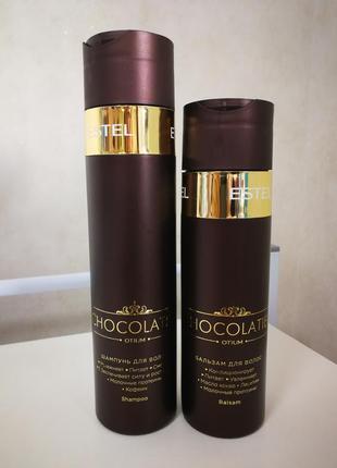 Шампунь, бальзам  для волос estel chocolatier