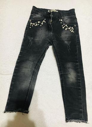 Классные джинсы на девочку