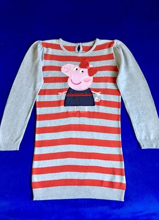Платье пеппа, 6-7 лет