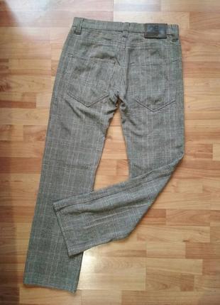 Фирменные штаны,брюки в клетку iceberg