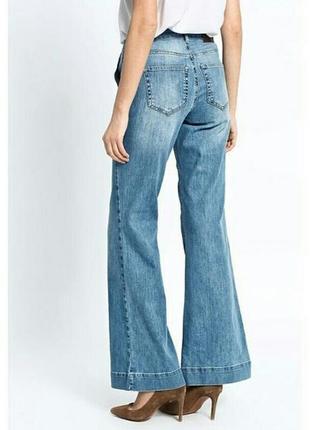 Цена снижена временно!крутые кюлоты,широкие джинсы палаццо